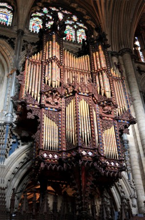 Ely Cathedral - Scott organ case